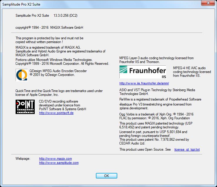 MAGIX Samplitude Pro X2 Suite Full Crack