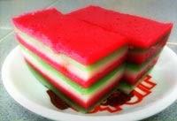 cara membuat kue lapis sagu