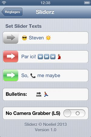 How To Add Sliderz in iPhone, iPad and iPod Touch