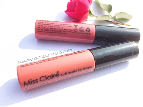 Miss Claire Soft Matte Lip Cream 31 & 47 REVIEW
