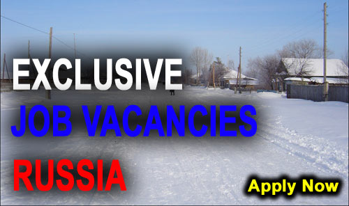 Exclusive Jobs in Russia