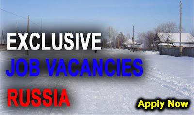 Exclusive Jobs for Indian Nationals : Jobs in Russia | Job Inbox ...