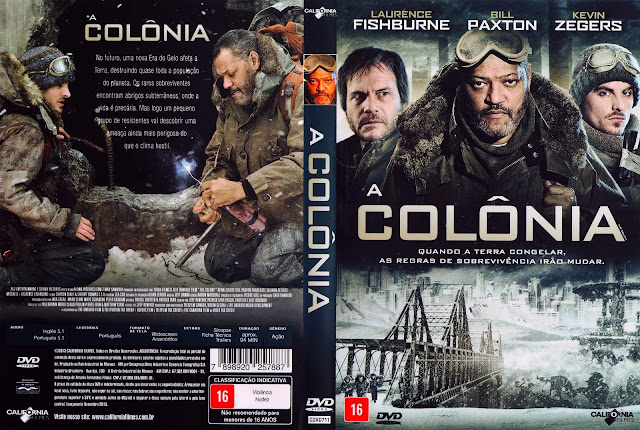 Capa DVD A Colônia