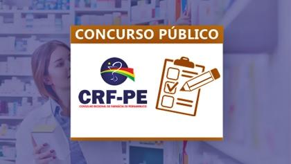 Concurso Conselho Regional de Farmácia de Pernambuco - CRF/PE 2018