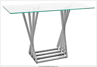 Must see glass top console tables Photograph