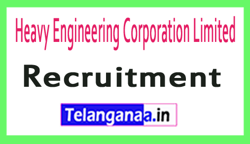 Heavy Engineering Corporation Limited HECL Recruitment