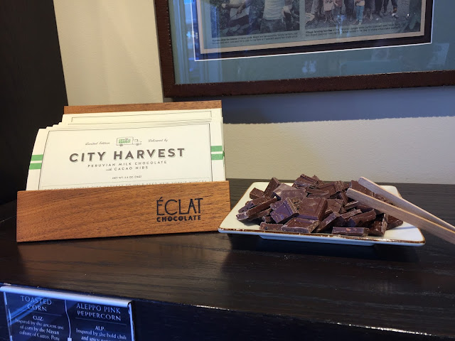 Eclat Chocolate Bar and sampling at the Eclat Store in West Chester, Pennsylvania