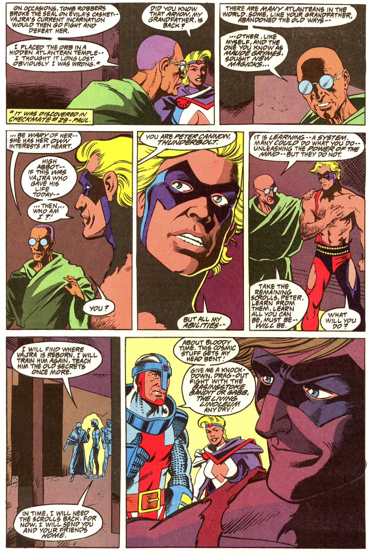 Read online Peter Cannon--Thunderbolt (1992) comic -  Issue #12 - 13