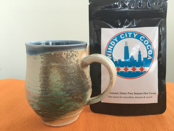 Windy City Cocoa vegan hot cocoa mix artisan mug giveaway