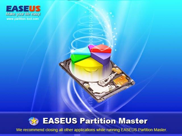 برنامج  EASEUS Partition Master