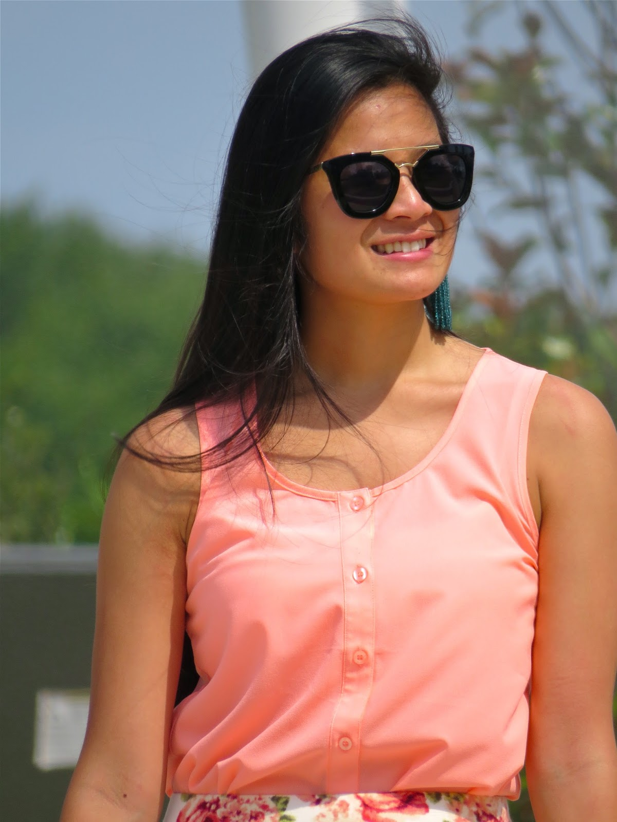 The perfect pink top for summer