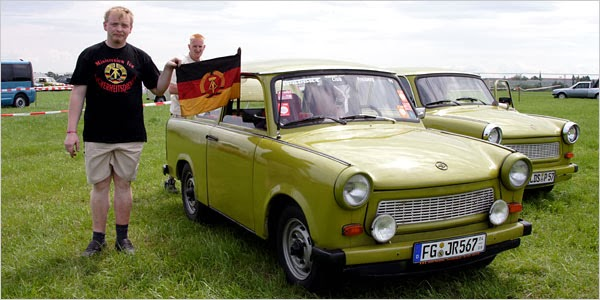 Heinkel Scooter Project: Trabant - the East German People ...