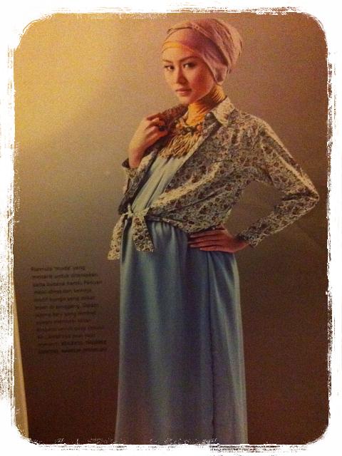 baju hamil muslim yang stylish 4