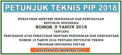 PETUNJUK TEKNIS PROGRAM INDONESIA PINTAR TERBARU