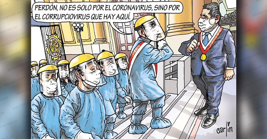 Carlincaturas Martes 28 Julio 2020 - La República