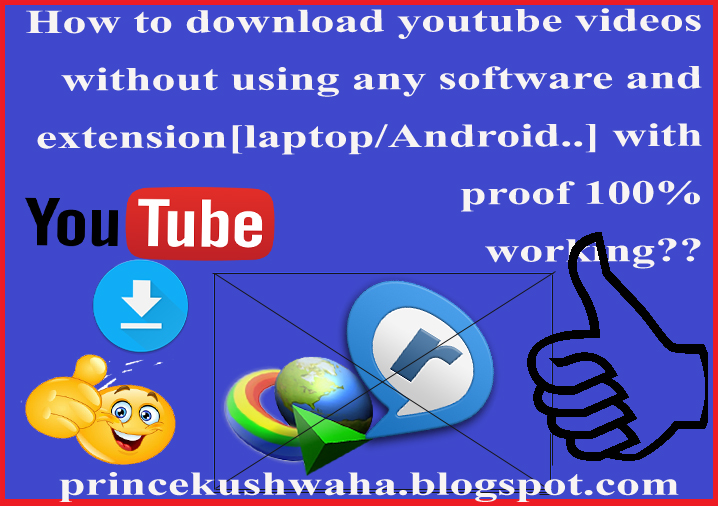 How to download youtube videos on laptop/ android phone/ windows