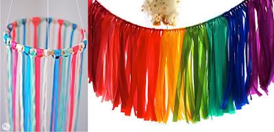 http://akissofcolour.com/2012/05/diy-26-decoracion-colgante-con-lazos-ribbon-chandelier/