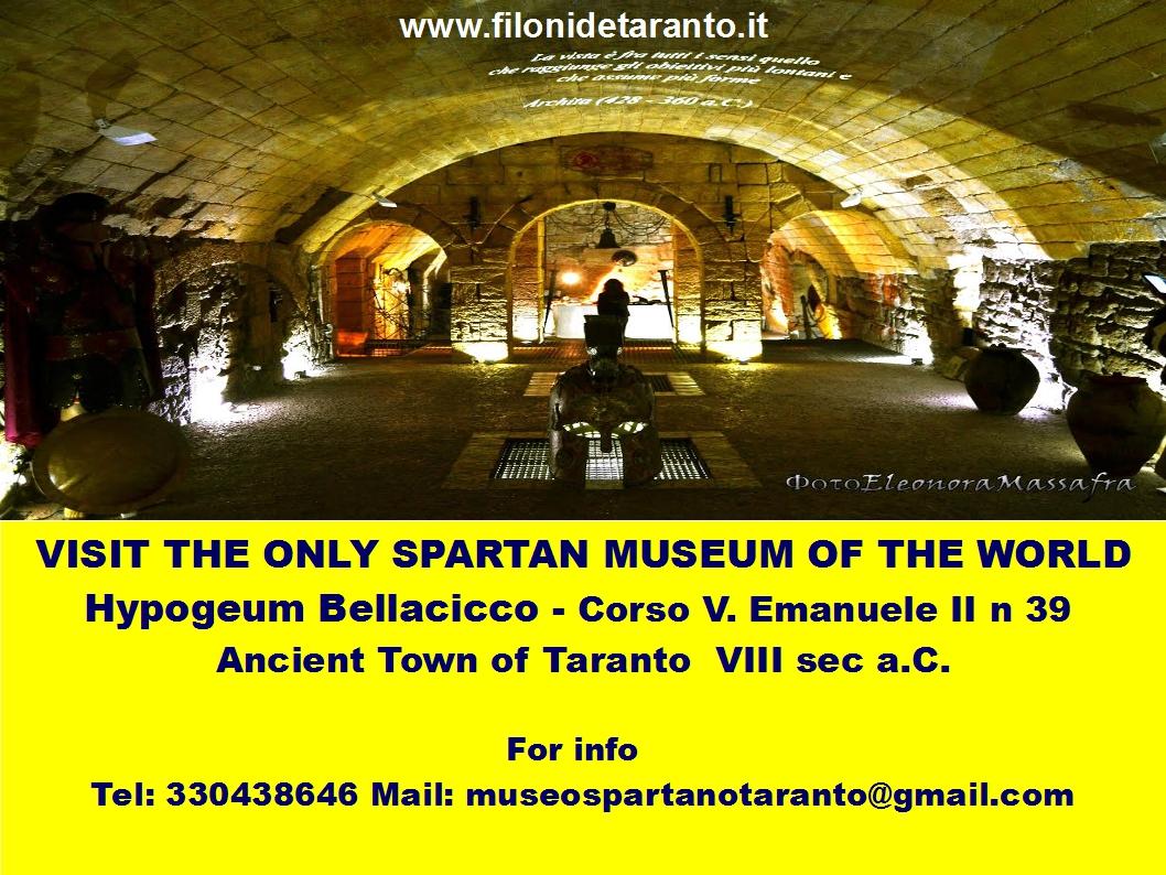 Spartan Museum of Taranto - Hypogeum Bellacicco ~ Spartan ...