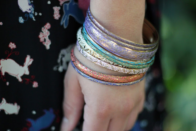 F21 Colorful Bangles