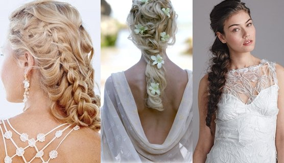 Wedding Hairstyles With Braids: Western Bridal Hair Styles