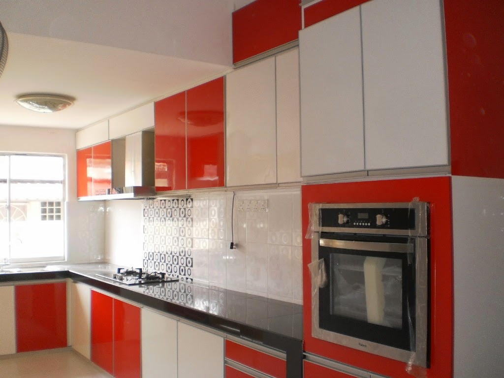 Red Kitchen Cupboard Doors Red Gloss Kitchen Doors Cliff Kitchen