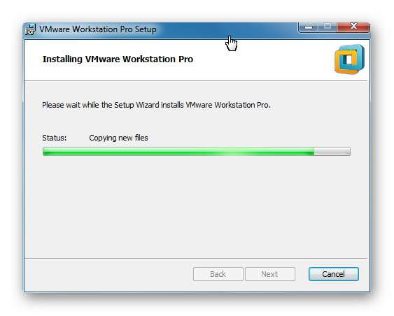 VMware Workstation Versión 12.5.5