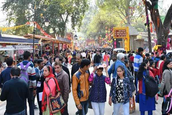 surajkund-mela-more-than-one-lakh-visitors-may-come-sunday-news
