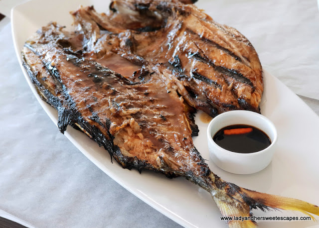 paluto restaurant dubai grilled fish
