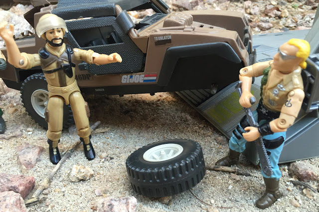 1984 VAMP Mark II, Clutch, Buzzer, Dreadnok, 1985