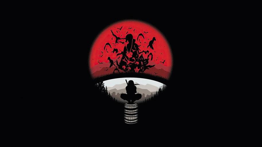 Uchiha Clan, Itachi, Logo, 4K, #6.1359