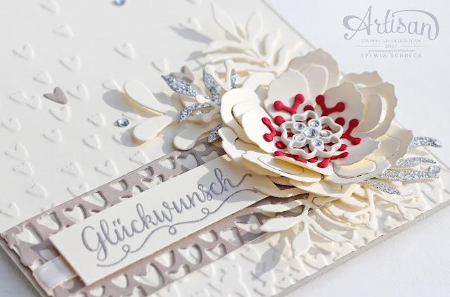 Hochzeit Karte Stampin Up
