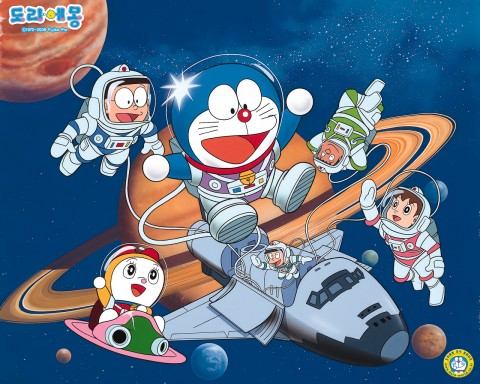 Doraemon And His Friends In Space HD wallpapers