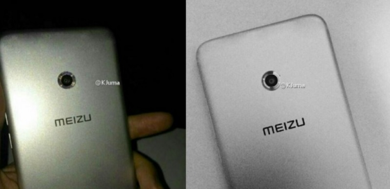 Meizu X Appeared in Live Pictures with Ring Flash