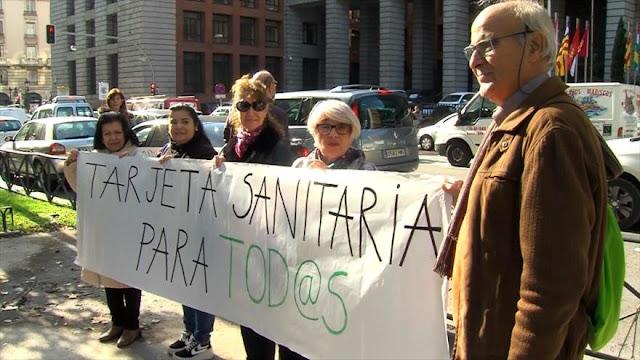 Denuncian fallos en la sanidad universal de España