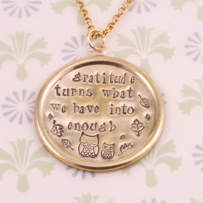 Owl Jewelry Inspiration, Necklaces & Metal Stamping