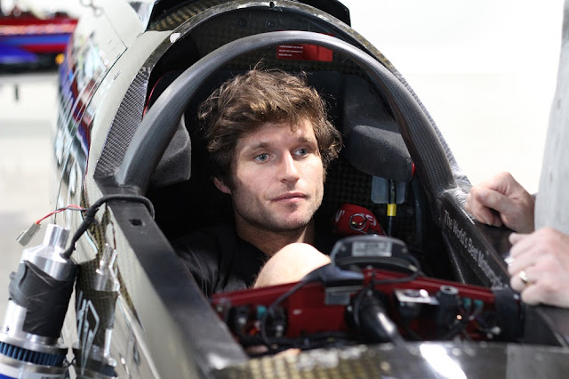 Isle of Man TT racer Guy Martin