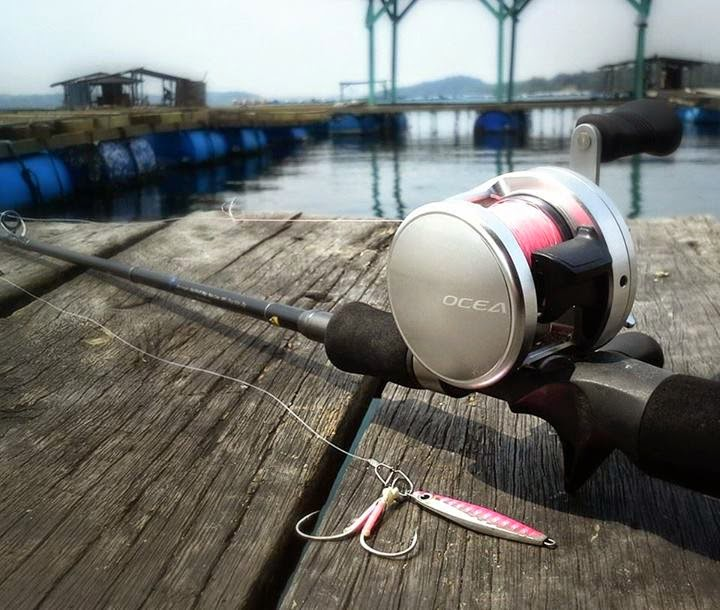 Shimano ocea jigger reel , jig mirco, light jigging