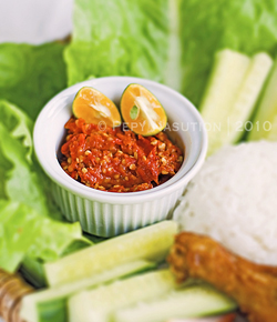 how to make indonesian sambal recipe?