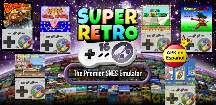 SuperRetro16 v1.6.8 Cracked Apk 2015 Latest is here