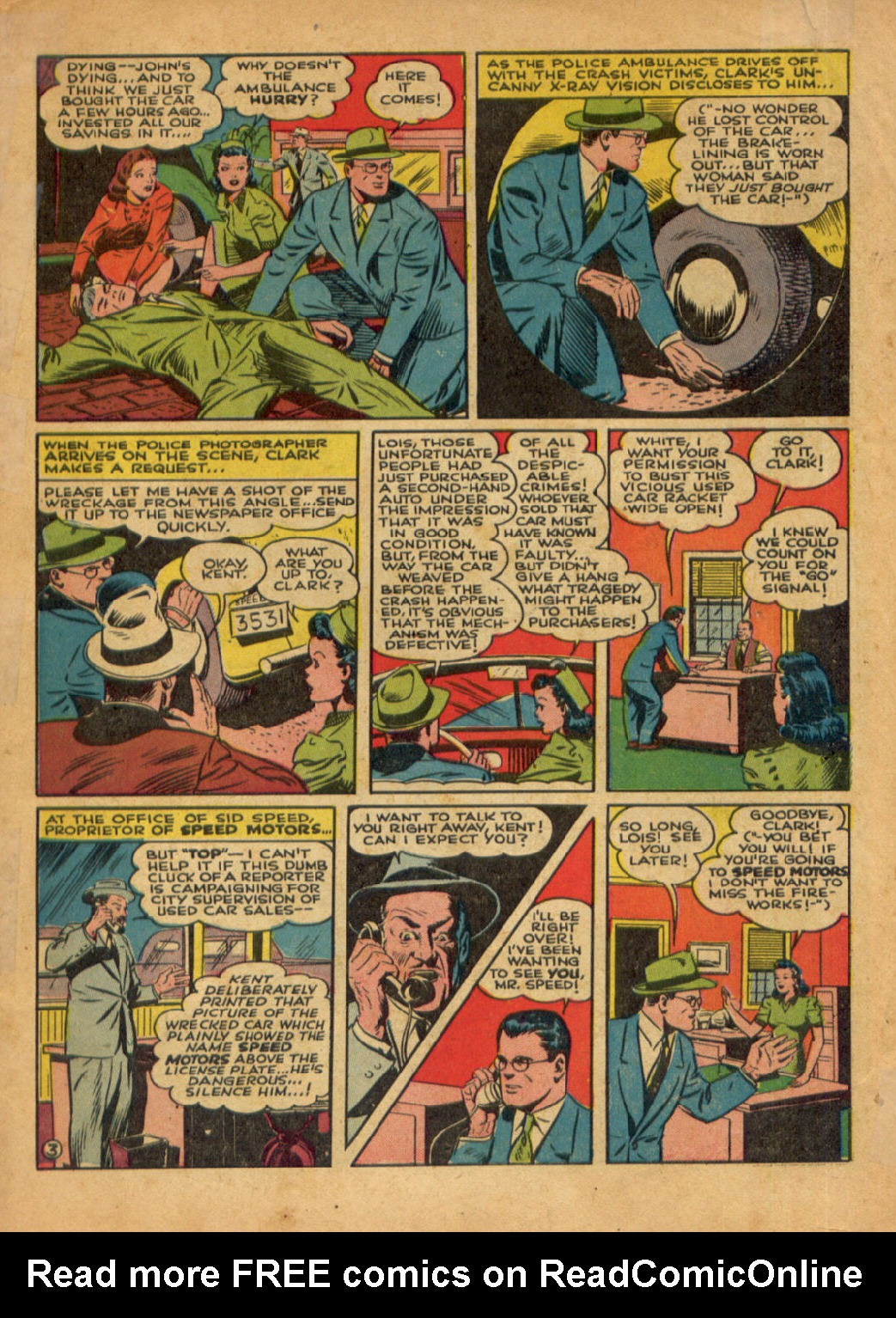 Read online Action Comics (1938) comic -  Issue #48 - 5