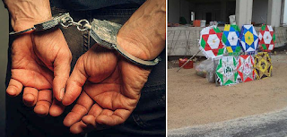 Συνελήφθη 50χρονος στο Αγρίνιο γιατί πούλαγε παράνομα χαρταετούς