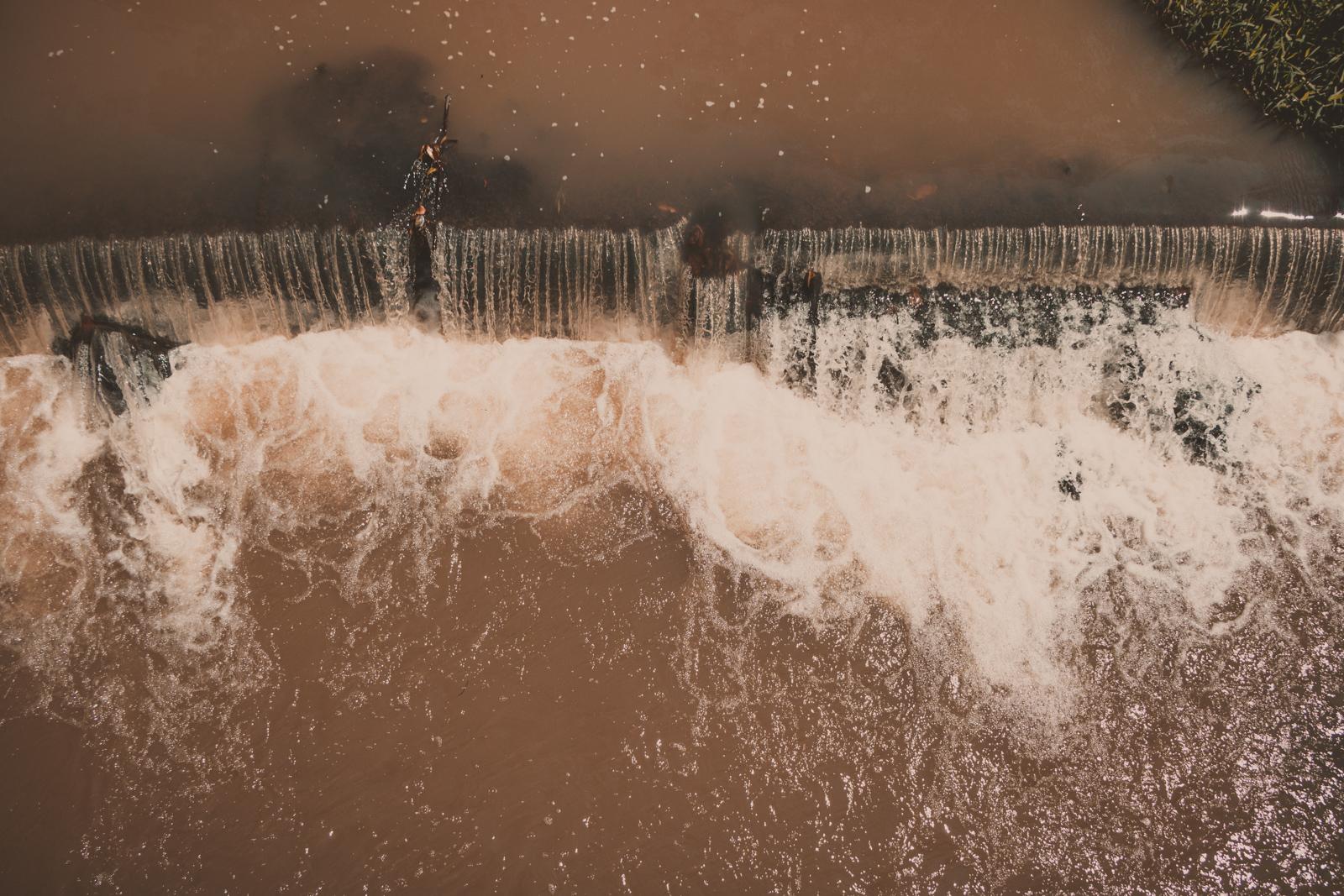 represa em águas da prata