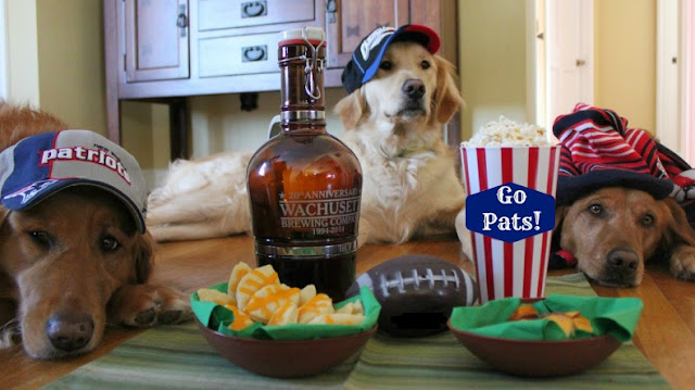 healthy super bowl football treats for dogs