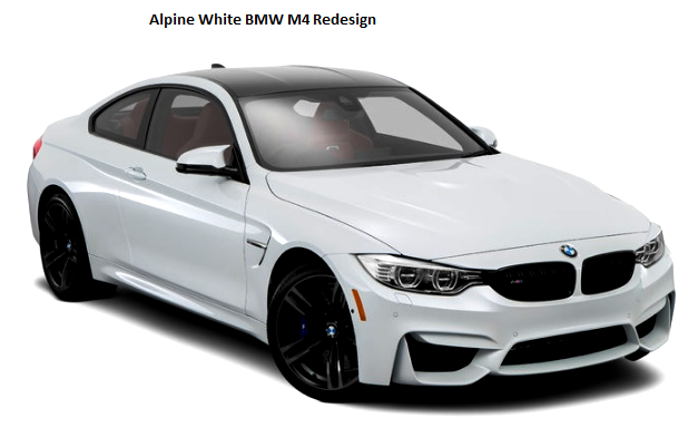 Alpine White BMW M4 Redesign
