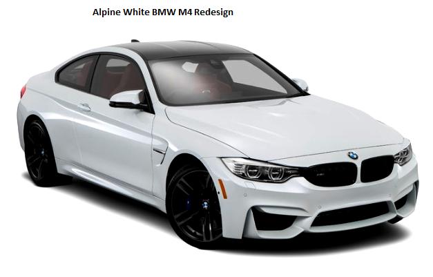 Alpine White Bmw M4 Redesign Auto Bmw Review