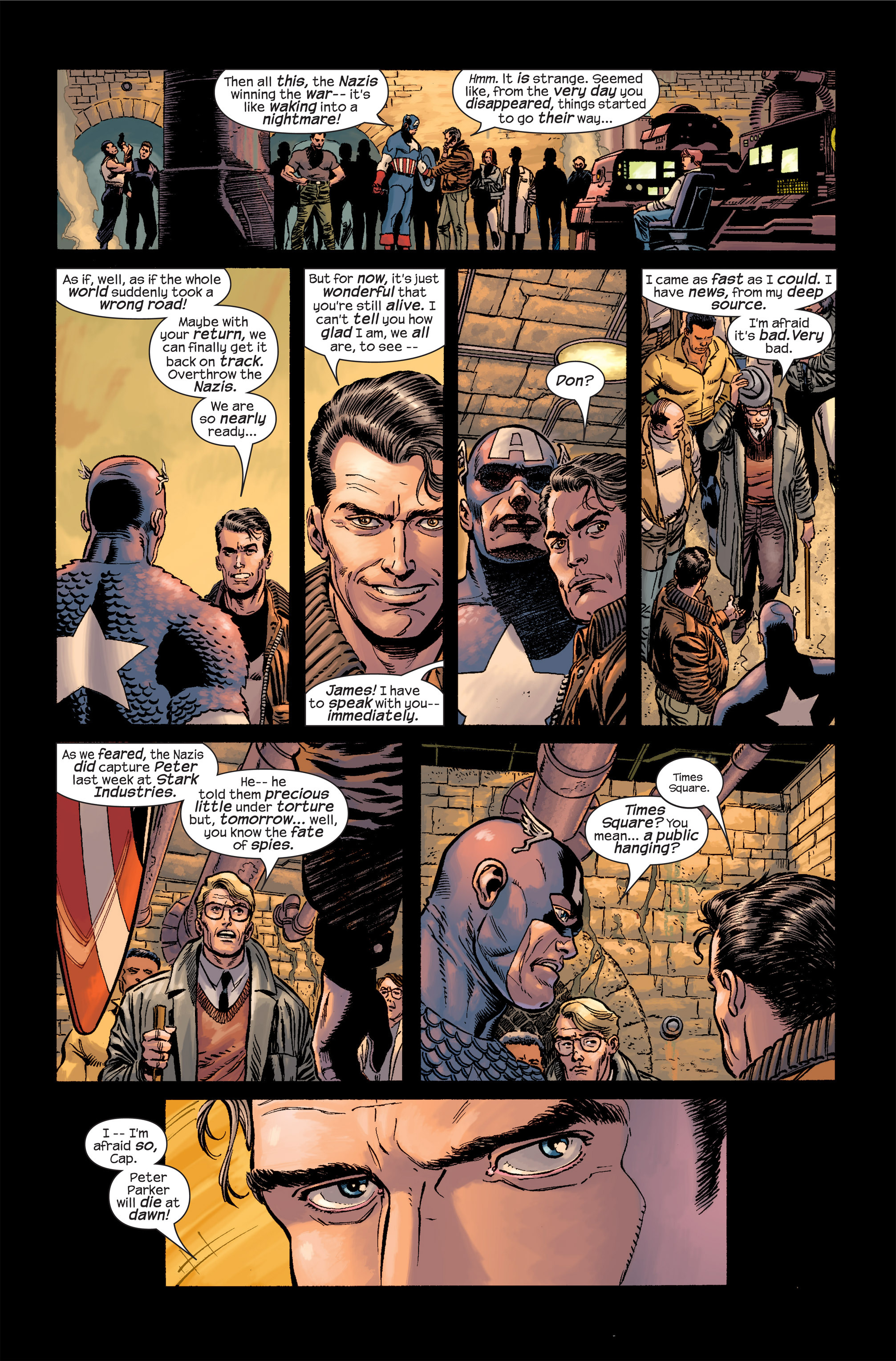 Captain America (2002) Issue #19 #20 - English 7