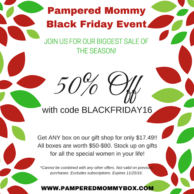 pampered mommy black friday coupon