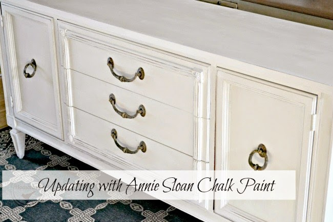 Painting a Server with Annie Sloan Chalk Paint www.homeroad.net