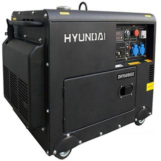 Máy phát điện Hyundai diesel DHY6000SE