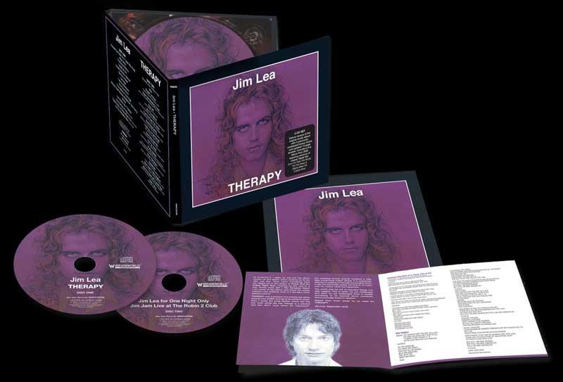 JIM LEA THERAPY WIENERWORLD 2CD EDITION